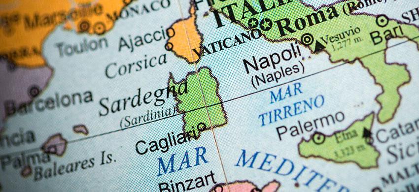 Cartina Sardegna Nurri.Mappa Della Sardegna Cartina Interattiva E Download Mappe In Pdf Sardegna Info