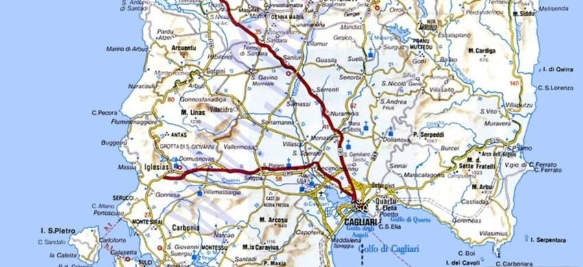 Cartina Sardegna Del Sud.Mappa Della Sardegna Cartina Interattiva E Download Mappe In Pdf Sardegna Info