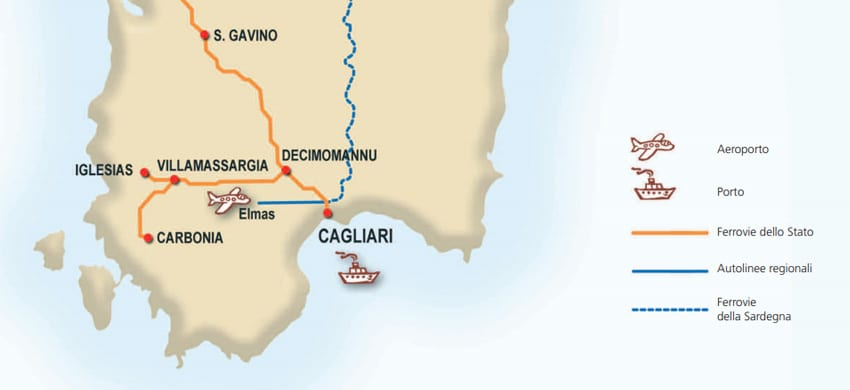 Cartina Porti Sardegna.Mappa Della Sardegna Cartina Interattiva E Download Mappe In Pdf Sardegna Info